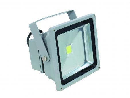 LED Fluter Classic kaltweiß 6000K, Silber