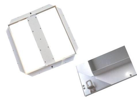 Unterbaurahmen für LED Panel 62x 62, mlight