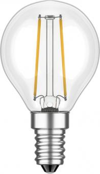 LED FILAMENT Tropfenformlampe