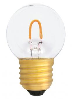 LED curved FILAMENT Tropfenformlampe (E)