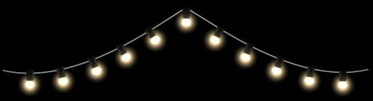 Universal-Lichterkette - grün -