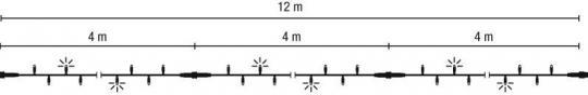 LED-Lichterkette-Flashing
