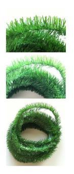 Girlande, grün, D = 6cm, Länge 10m