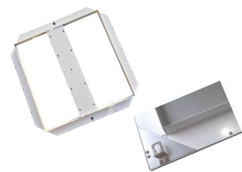 Led Lampen Panel : Beleuchtung lampen licht unterbaurahmen für led panel