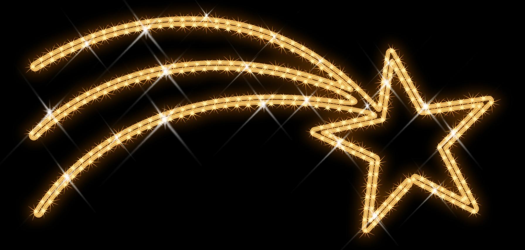 Led Weihnachtsbeleuchtung Komet.Comet