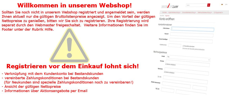 Info Registrierung
