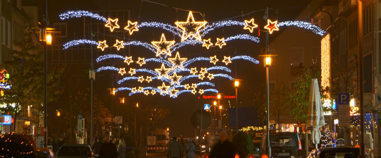 Weihnachtsbeleuchtung Uelzen