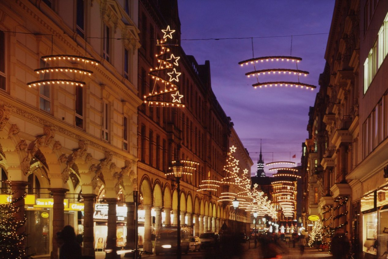 Hamburg - Colonnaden