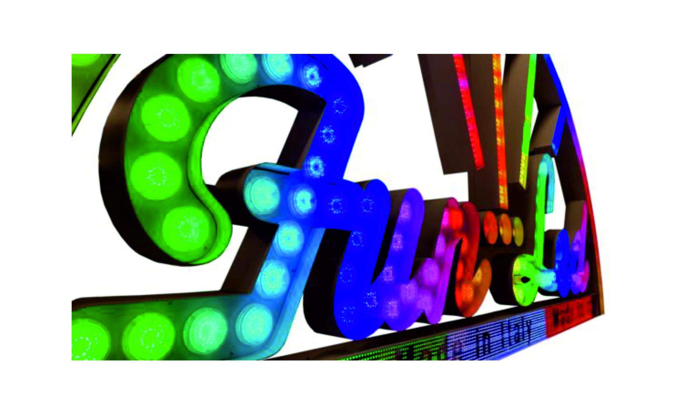 FUN LED Schriftzug 1
