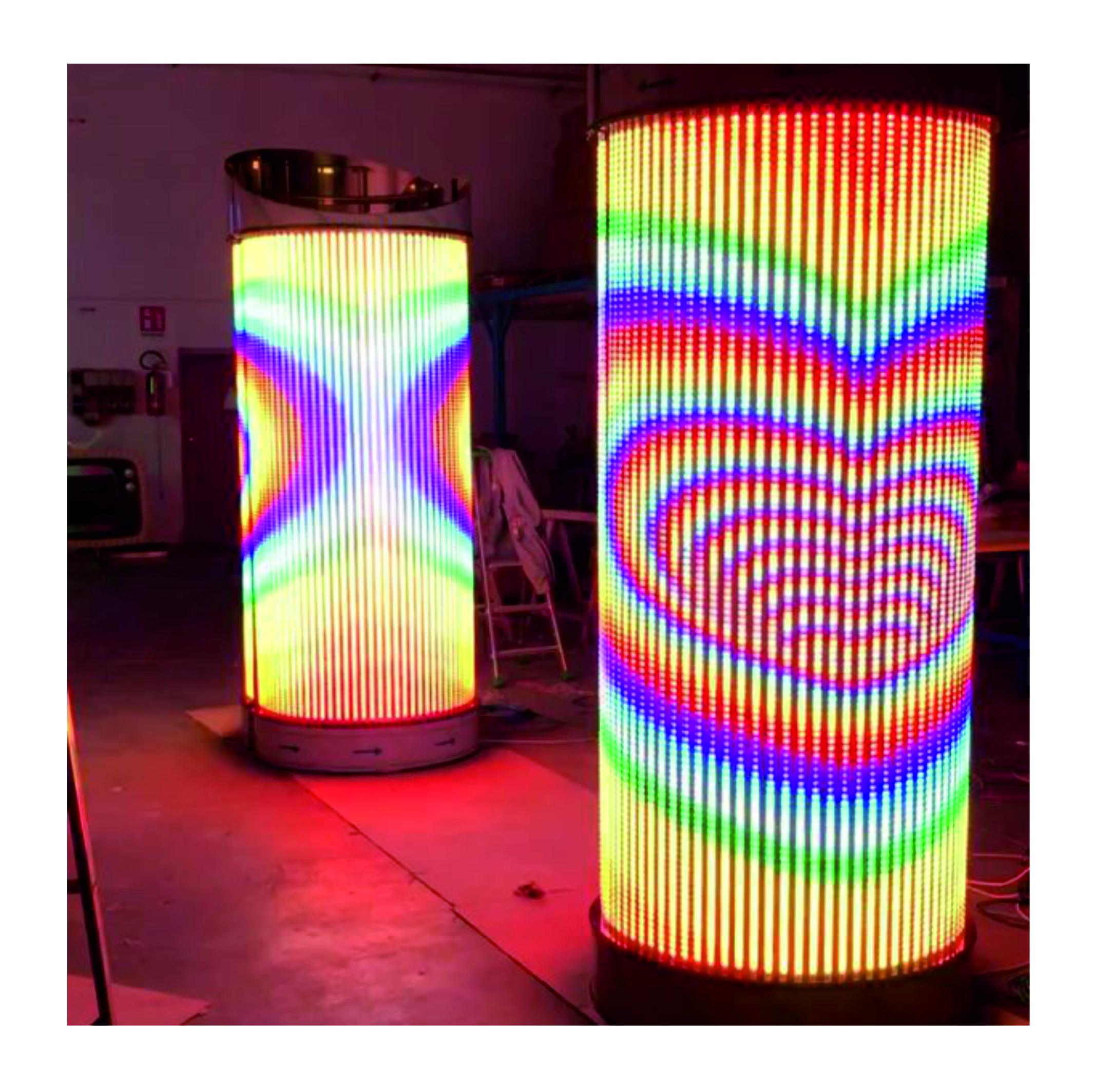 Säulenbeleuchtung 1